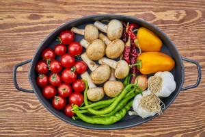 Verschiedenes gesundes, frisches Gemüse